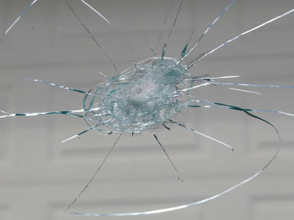 трещина в стекле ремонт